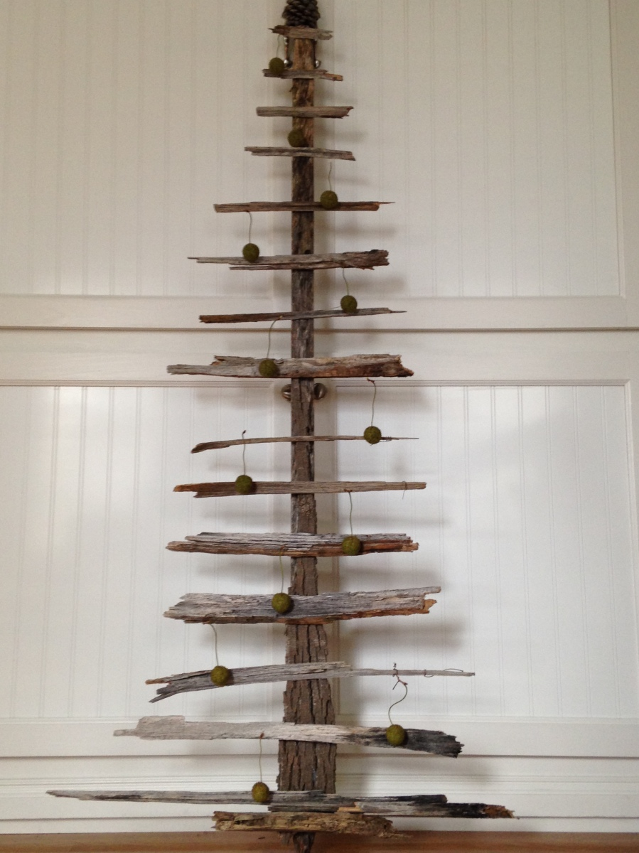 drift wood Christmas tree~